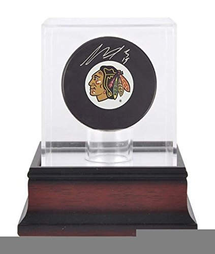 Antique Mahogany Hockey Puck Display Case - Hockey Puck Display Cases No Logo