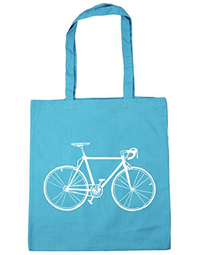 Bag illustration 42cm Surf Gym 10 Tote Blue bike x38cm litres Beach HippoWarehouse Shopping 0AwPYx