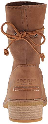 Us Calf Ronan Mid sider Women's 12 Top Boot Sperry Tan M Maya xq47UW6
