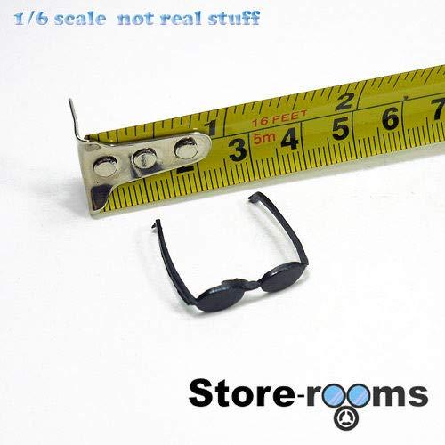 FidgetKute TD38-03 1/6 Scale Action Figure - Black Sunglasses from FidgetKute