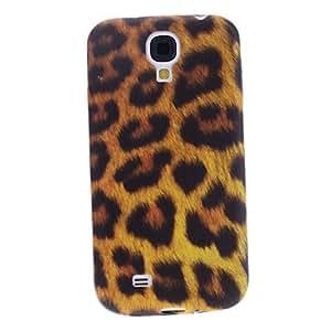 YXF Leopard Pattern Soft Case for Samsung Galaxy S4 I9500