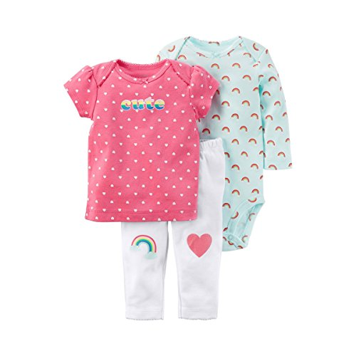 (Carter's Baby Girls' 3 Piece Little Character Set 18 Months)