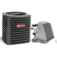 Goodman 3 Ton 13 SEER AC with Uncased Upflow/Downflow Coil 20 wide GSX130361CAUF3743C6