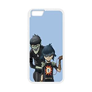 iPhone 6 Plus 5.5 Inch Cell Phone Case White Gorillaz Noodle And Murdoc L6H1RC
