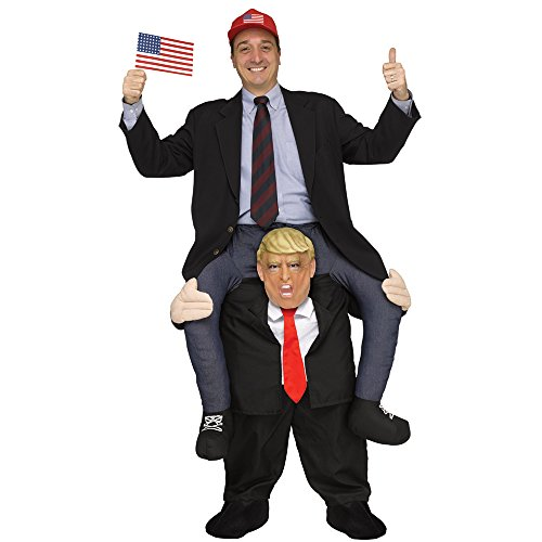 Ride a President Adult Political Rider Ride On Trump Costume