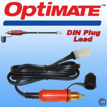 OPTIMATE 3 AND 4 CANBUS DIN PLUG LEAD WITH WHITE TM CONNECTOR PART NUMBER TM95
