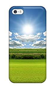 New Shockproof Protection Case Cover For Iphone 5/5s/ Bright Green Landscape Case Cover