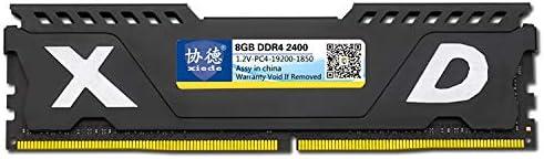 ZZjingli Compatibilità X073 DDR4 2400MHz 8GB Vest Completa Memoria RAM Module for PC Desktop