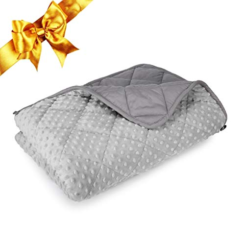 Best weighted blanket toddler 3lb minky