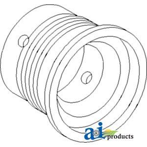 A & I productos taza, Cover, palanca de cambio de marchas (SN <