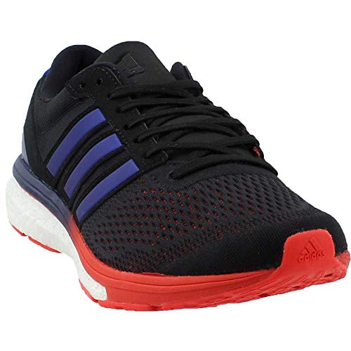 check out 5a792 2a431 adidas Performance Mens Adizero Boston 6 m Running Shoe, Core BlackReal  PurpleHi-Res Red, 10 M US