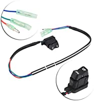 Power Tilt Switch,Akozon 87-18286A43 Tilt Trim Switch Assembly for Mercury Outboard Remote Control Box