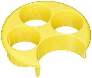 Meal Measure Portion Control Tray - Yellow