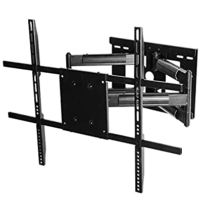 "Wall Mount World - 37 Inch Extension - TV Wall Mount Bracket fits LG 55SJ8500 55"" Super UHD 4K HDR Smart LED TV, with Full Motion 90 Degree Swivel Swivel Articulating Arms, VESA 300x300mm Ready"