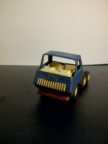 Tonka Semi-Truck Blue Cab with White Trailer Approx. 12