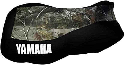 VPS Seat Cover Compatible With Yamaha Kodiak 400 450 2000 /& up Camo Top Black Sides Logo Seat Cover # New 2020