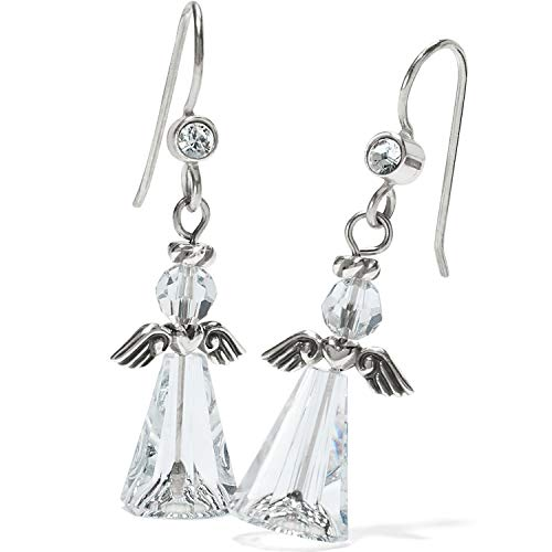 Brighton Tinsel Town Angel French Wire Earrings ()