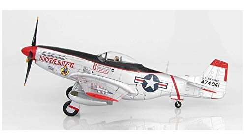 - Hobby Master 7736 P-51D Mustang JW Rogers 36th FBS 8th FBW 1/48 Scale Model