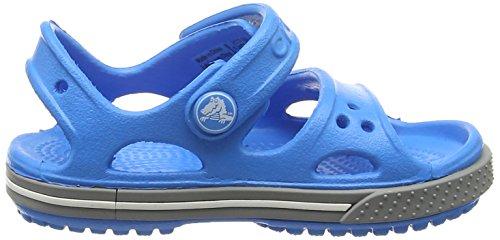 Crocs Kid's Boys and Girls Crocband II Sandal | Pre School Flat, Ocean/Smoke 8 M US Toddler by Crocs (Image #6)