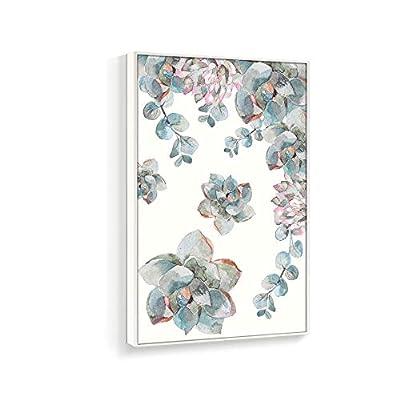 it is good, Magnificent Expertise, Framed Home Artwork Succulent Plant for Living Room Bedroom