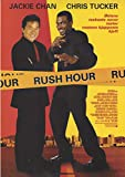 Rush Hour Small Movie Poster in Norwegian with Jackie Chan and Chris Tucker (11.75