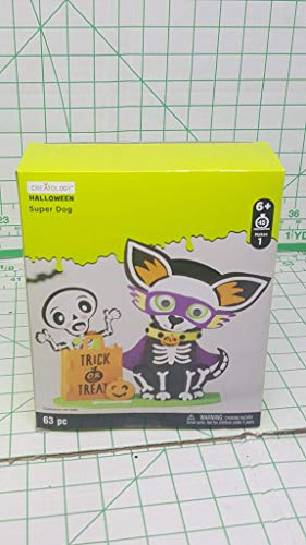 Creatology Halloween 3D Activity Kit ~ Super Chien (63 -