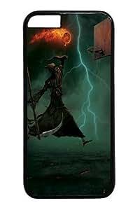 For SamSung Galaxy S5 Phone Case Cover -Death Does PC Hard Plastic For SamSung Galaxy S5 Phone Case Cover BlackKimberly Kurzendoerfer