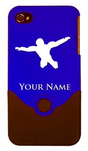 Personalized Case/Cover for iPhone 4/4S - SKY DIVER, SKY DIVING, PARACHUTE - Laser Engraved for Free
