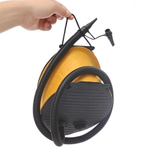 Liping Plastic Bellows Foot Pump – Sports Inflatable Yoga Gym Exercise Ball - Foot Pump-Pad-Camping-Mat-Mattress-Balloon (A) from LiPing