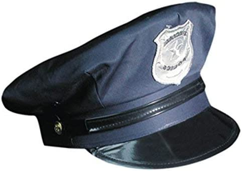 Marco Porta Gorra de Policía Ajustable Policía Sombrero: Amazon.es ...