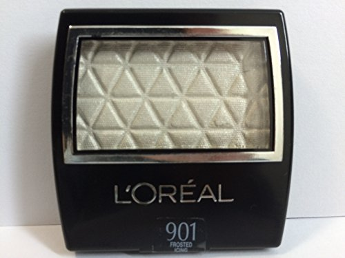 L'Oreal Paris Studio Secrets Professional Eye Shadow Singles, 901 Frosted Icing. 0.10 Oz. Pack of 20. by Unknown