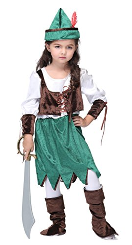 Woo2u (Pirate Lass Childrens Costumes)