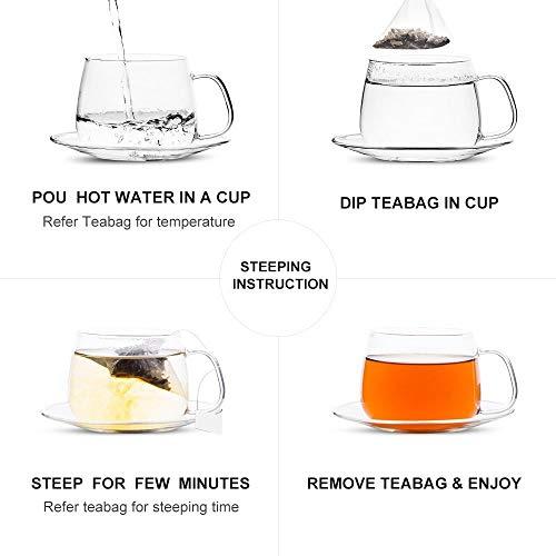 Yan Hou Tang Organic Mango Oolong Tea Bags Flesh Full Loose Leaf Spice Mix Fruit Flower Natural Delicious Tea Drink 50 Teabags