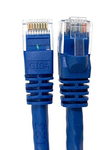 - Micro Connectors, Inc. 50 feet Cat 6 Molded UTP Snagless RJ45 Networking Patch Cable - Blue (E08-050BL)