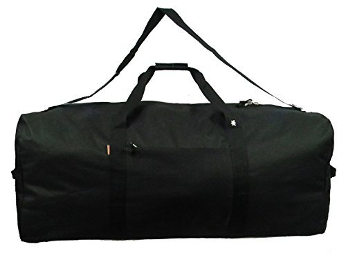 Cargo Hardware - Heavy Duty Cargo Duffel Large 42 Inch Sport Gear Drum Set Equipment Hardware Travel Bag Rooftop Roofbag Rack Bag 42 Inch Black Traveling Bags