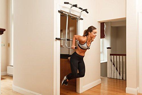 Triple Door Gym Ultimate 3 In 1 Doorway Trainer Raised