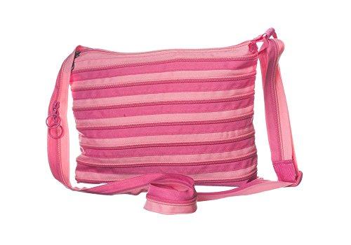 original zipit mini Schultertasche hell Pink und dunkel pink