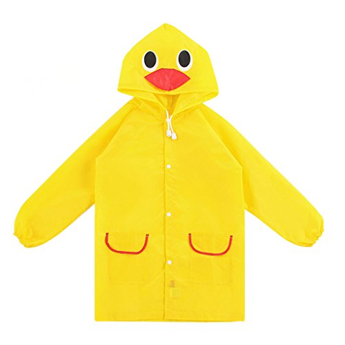 Toddler Cartoon Hooded Raincoat Rainwear