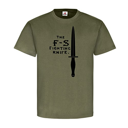 F-S Fighting Knife Major Fairbairn Commando British Army England Defendu Combat