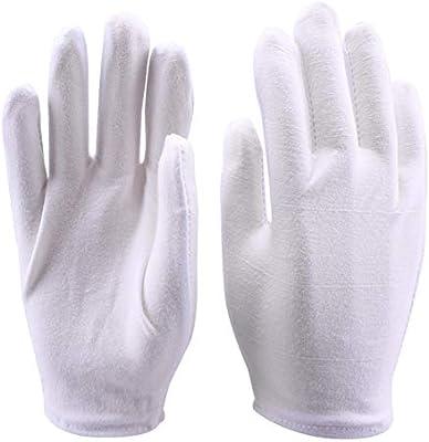 Newin Star DIY 4 pares trabajo de algodón guantes llenos guantes ...