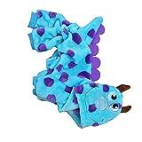LINGERY Unisex Pet Winter Clothes Puppy Dog Cat Dinosaur T Shirt Coat Sweater Apparel (Blue - XXS)