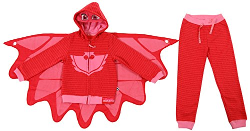 PJ Masks Owlette Girl's Toddler Hoodie and Pants Set (5/6T)