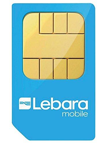 Lebara Pay As You Go International Combi Sim Card