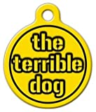 Steelers Terrible – Custom Pet ID Tag for Dogs and Cats – Dog Tag Art – SMALL SIZE, My Pet Supplies