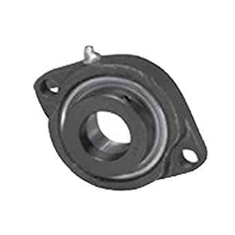 """NEW SBLF206-20G  High Quality 1-1//4/"""" Set Screw Bearing with 2 Bolt Flange"""