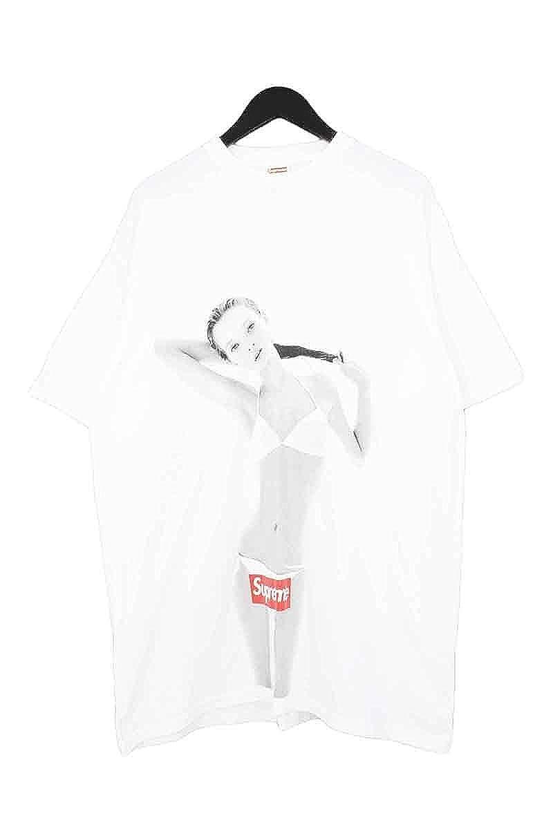 (シュプリーム) SUPREME 【04SS】【10th Anniversary Kate Moss Tee】10周年ケイトモスボックスロゴTシャツ(XL/ホワイト) 中古 B07DQFCWNC