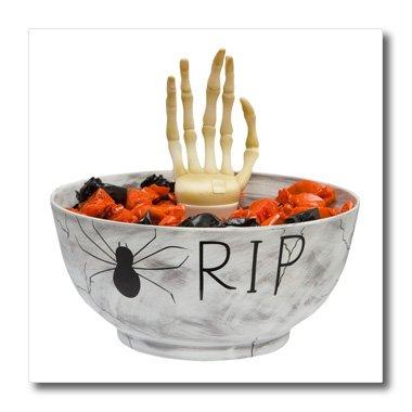3dRose ht_131313_3 Halloween Rip Candy Bowl Iron on Heat ...