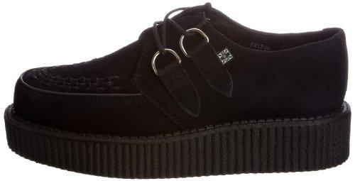 Sole Mixte Lo Creeper Tuk Noir Interlace black Suede Baskets black Adulte Mode UR5Aqwfq