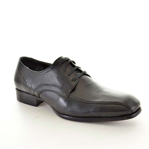 Kenneth Cole Oxford Heren Schoenen Maat 10,5 M Custom Link Zwart Leer