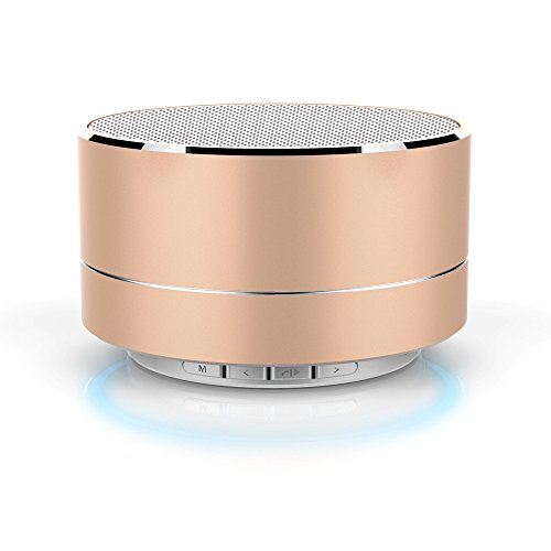 Fans Wireless Portable Bluetooth Speakers  Aluminum Band Lights  Radio Call Cards  Mini Subwoofer  Outdoor Charging  Led  Stereo  Bass Enhancement